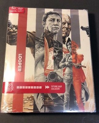 Looper [ Limited STEELBOOK Edition ] (Blu-ray / DVD Combo) NEW