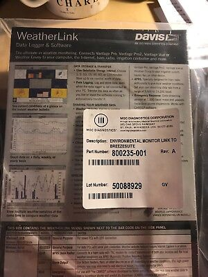 Weatherlink Data Logger & Software
