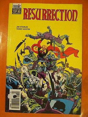 Résurrection. Jim Starlin & Terry Austin. Semic Collection Top BD