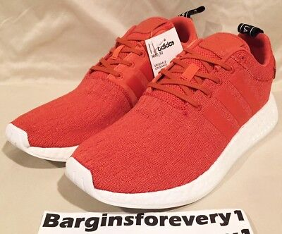 best sneakers 4c625 4f2d6 New Men s Adidas NMD R2 - BY9915 - Size 10 - Future Harvest