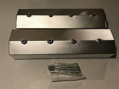PRW 4035031 Polished Aluminum Valve Cover for Chevy