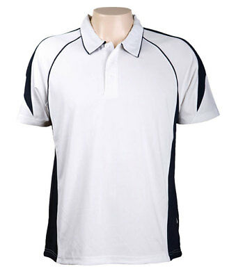 Auspirit Olympikool Mens Polo Shirt with KoolDri Moisture Wicking Technology