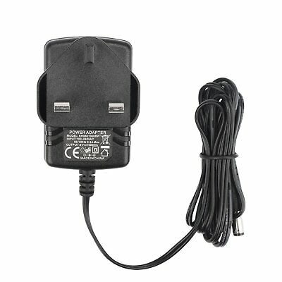 1byone Blood Pressure Monitor Power Adapter with 1.45M (4.76 feet) Cable, Black