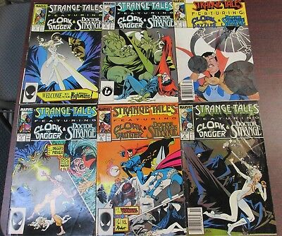 Marvel Comic Books STRANGE TALES 1987 RUN LOT OF 6 - 2 4 5 6 8 9