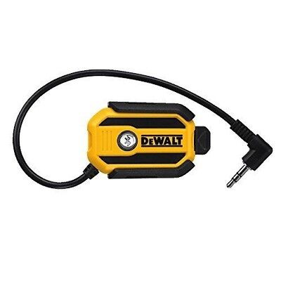 DEWALT DCR002 BLUETOOTH RADIO ADAPTOR NEW IN YOUR BOX, NEVER USED, UP TO 100 ft.