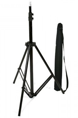 Aluminum Adjustable Light Stand With Case For Dimmable Ring Light With Carry Bag