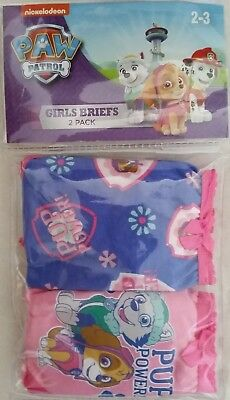 PAW PATROL /'PAWFECT/' Licensed Girl singlet vest tank /& briefs set NEW sizes 2-4