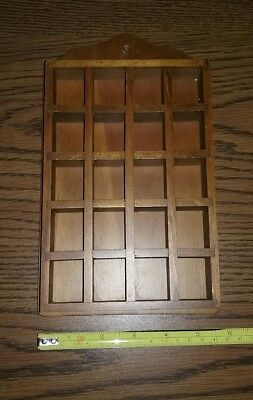vintage Three Mountaineers Wooden Wall Mount SMALLS MINIS Rack Asheville NC