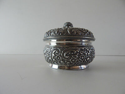 ANTIQUE 125 year old QUADRUPLE silver plate dresser box by WILCOX silverplate Co