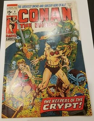 Conan the Barbarian #8 1970 Marvel