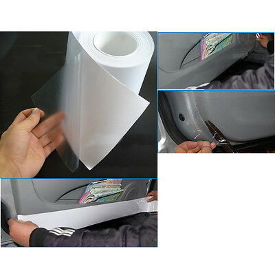 "3M*15cm 6""x120"" Car Protective Film Vinyl Bra Door Edge Paint Protection Clear"