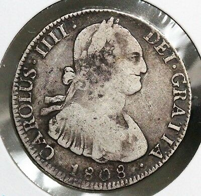 1808 Bolivia 4 Real Vf Nice Original Example See My Other Reales!