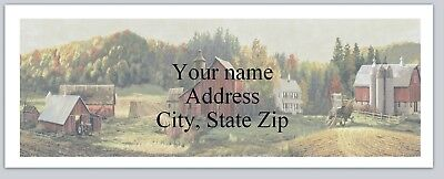 Personalized address labels Country Scene Buy 3 get 1 free (xac 782)