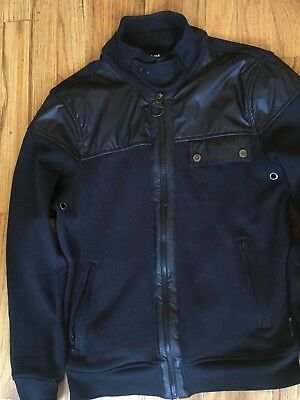 Mens Barbour International Cotton Motorcycle clothing Jacket Black  Small