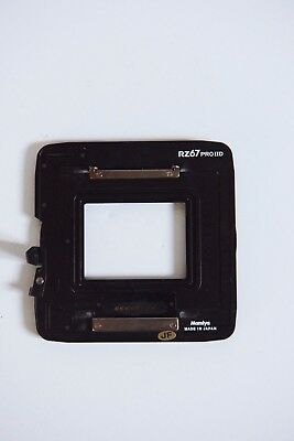 Mamiya RZ67 Pro II-D Digital Plate for Phase One Backs