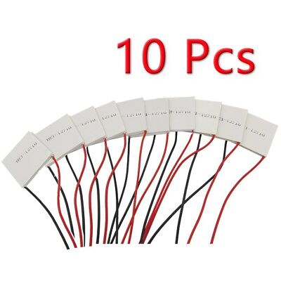 10pcs TEC1-12710 Thermoelectric Cooler Cooling Peltier Plate Module NEW
