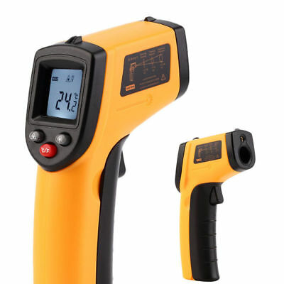 1*Infrared Thermometer Digital Pyrometer Non-Contact Temperature Laser Handheld