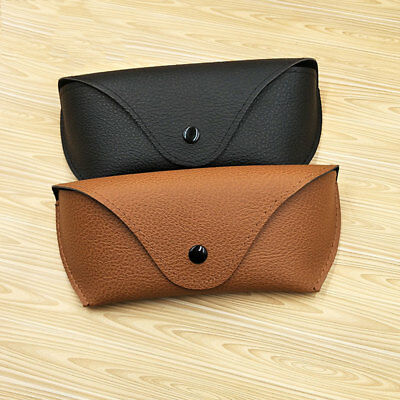 Leather Storage Holder Box Case Cover Pouch Eyeglasses Sunglasses Glasses !
