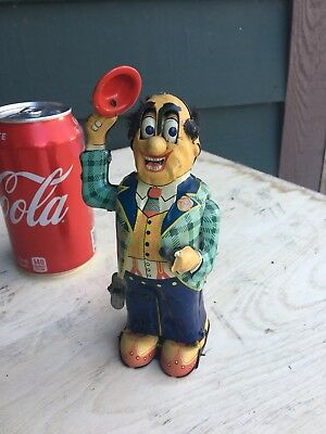 Vintage Funny Marx Wind Up Toy -working