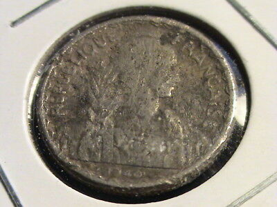 1940 French Indochina, 10 cents  KM #21.1    L124
