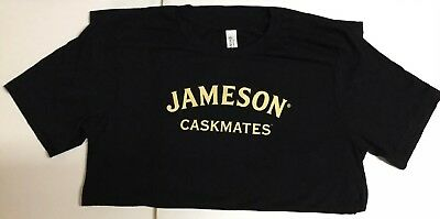NEW Jameson Caskmates Irish Whiskey Large Green Cotton T-shirt Small