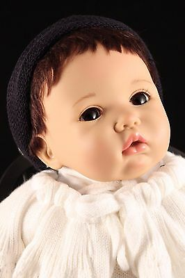 "Rare Carin Lossnitzer GOTZ 20"" Baby Lifelike Vinyl Artist Giannie Doll Germany"