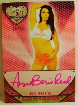 Angel Boris Reed 25/25 Auto Autograph Eclectic Bench Warmer 2015 Rare