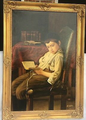 XL Frame 36 X 24 Wood Gilt Gold Ornate Picture Mirror Antique Painting