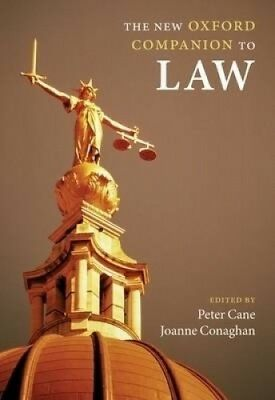 The New Oxford Companion to Law (Oxford Companions) by Peter Cane.