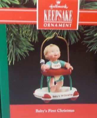 Hallmark 1990 Baby's First Christmas Ornament