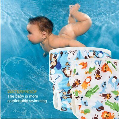 Soft Baby Adjustable Swim Diaper Washable Reusable Breathable Pool Pant Cover LJ