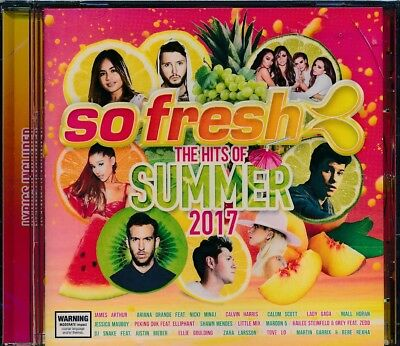 So Fresh The Hits Of Summer 2017 CD NEW lyrics included Calum Scott Maroon 5