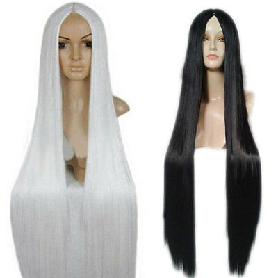 100Cm Harajuku Anime Cosplay Wigs Long Straight Hair Wig Party Cosplay Wigs styl