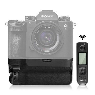 Meike MK-A9 Pro Vertical Battery Grip 2.4GHz Remote Control for Sony A9 A7RIII
