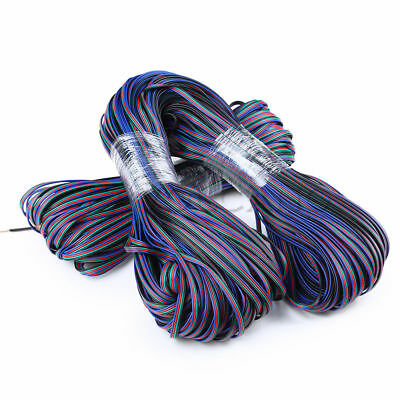 Wholesale 4 PIN 22AWG RGB Extension Wire Cable Cord For 3528 5050 RGB LED Strip