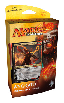 Magic - Rivals of Ixalan, Planeswalker Deck DE Angrath, Minotauren-Pirat