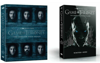 Game of Thrones: The Complete 5-7 Seasons 5 6 7(DVD) Box Set Bundle NEW