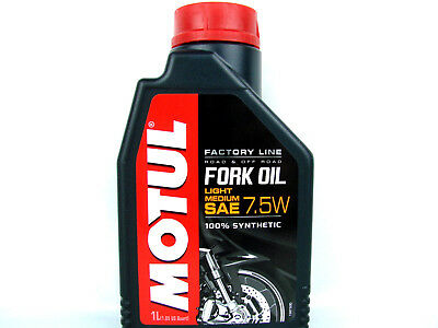 MOTUL FORK OIL 7,5W Factory Line Light Medium dämpfungsöl Motorcycle 1X 1L