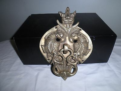 Large Vintage Decorative  Metal Door Knocker
