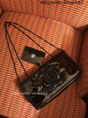 Rare Auth Set of Two Chanel Beauty ID Card & Makeup Bag Set VIP Gift Set