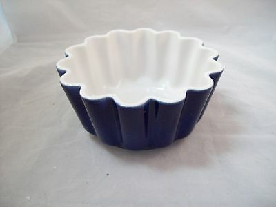 Stanley Roberts Blue Scalloped Round Bowl