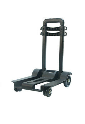 D34 Rugged Aluminium Luggage Trolley Hand Truck Folding Foldable Shopping Cart