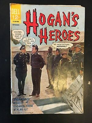 HOGAN'S HEROES #2 - DELL COMICS, 1966. Hard to find - see photos for condition