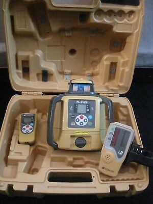 Topcon RL-SV2S Dual Slope Laser Level With LS-80L Receiver CLEAN #2