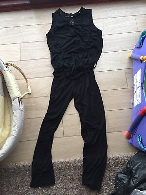 Black Maternity Jumpsuit Next Size 12