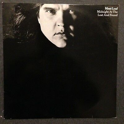 Meat Loaf - Midnight at the lost and Found 1983 Vinyl