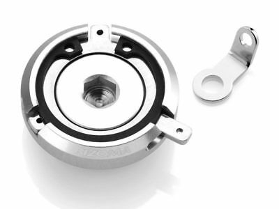 Tp023A Rizoma Engine Oil Filler Cap Silver Yamaha Tmax 530 / Abs 2012 2013 2014