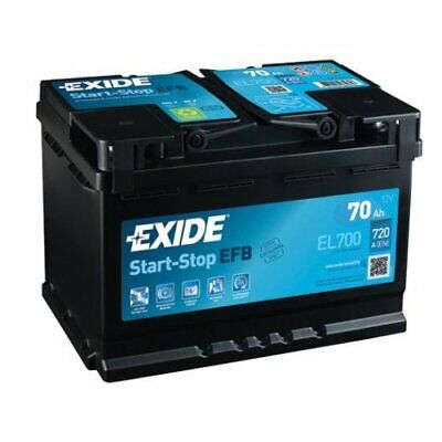 EXIDE Starter Battery Start-Stop EFB EL700