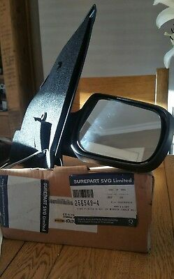Ford Fiesta Mk6 2002-2005 Door Wing Mirror Manual primed cover O/S Driver Right