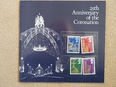1978 25th Anniversary of the Queens Coronation Souvenir Pack